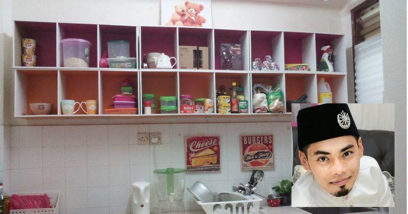 Diy Kabinet Dapur Sendiri Lelaki Ini Guna Kos Hanya Rm94 Sahaja Lengkapkan Dapur Miliknya Keluarga