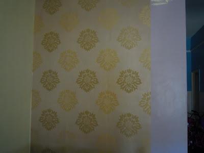 Cantikkan Rumah Dengan Wallpaper Diy Pasang Wallpaper
