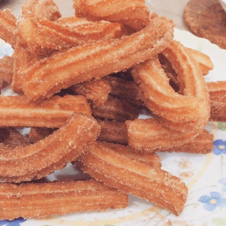 resipi churros  simple ibu senang nak buat anak comfirm suka keluarga Resepi Churros Guna Minyak Enak dan Mudah