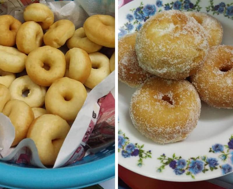Donut Simple Tanpa Uli Bukan Saja Mudah Dibuat Malah Kekal Gebu Sepanjang Hari Keluarga