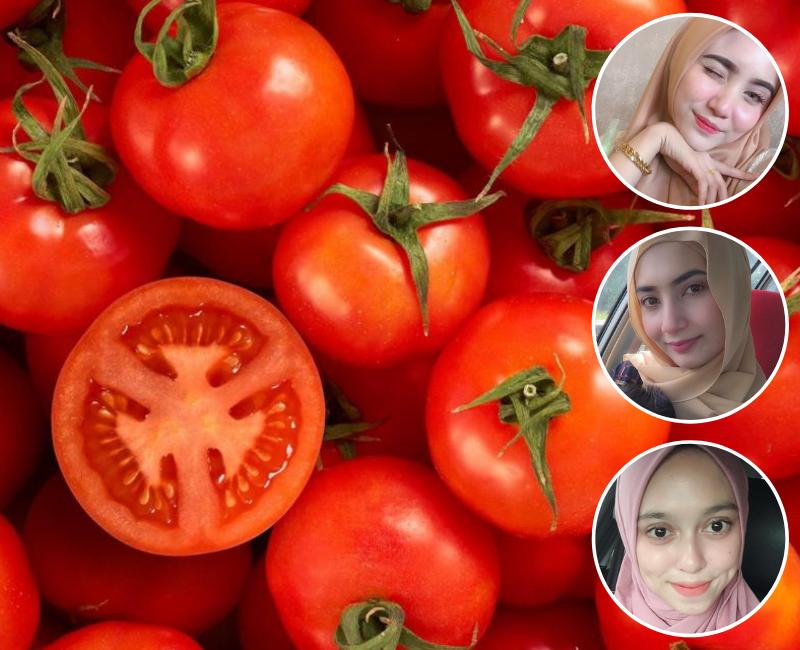Tiga Wanita Ni Guna Tomato Beku Tu Rahsia Kulit Wajah Mereka Jadi Cantik Putih Bersih Keluarga