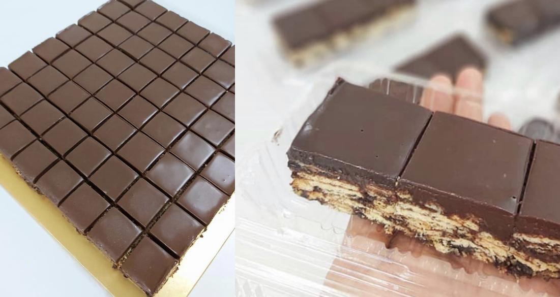 Kek Batik Viral Versi Biskut Lembut Macam Kek Memang Sedap