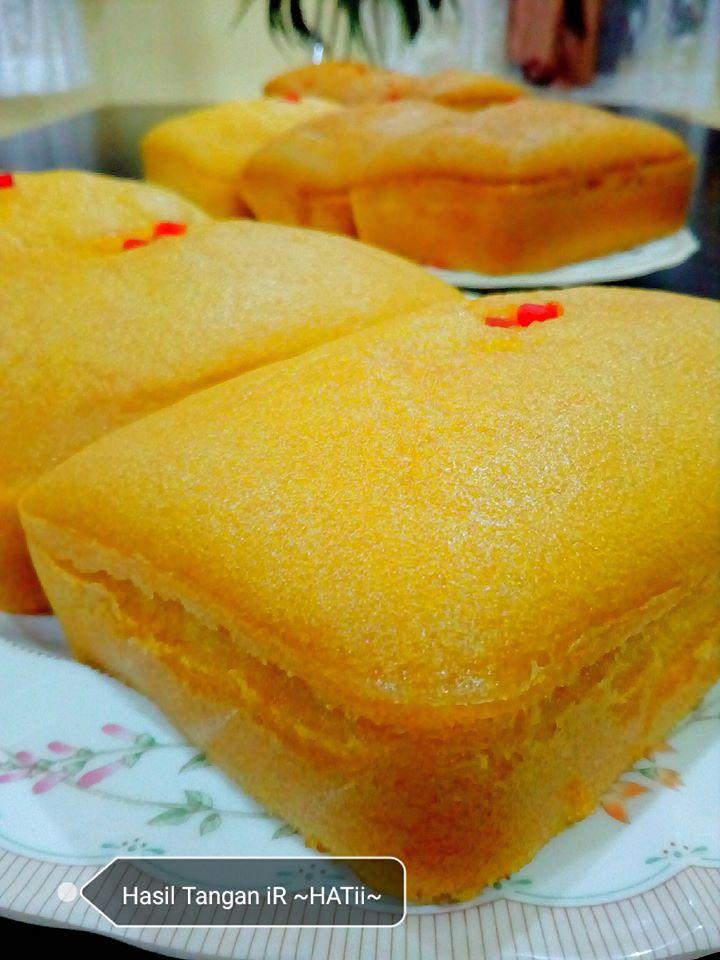 Kek Oren Lembap Sedap Mudah Dibuat Gebu Pula Tu Hanya