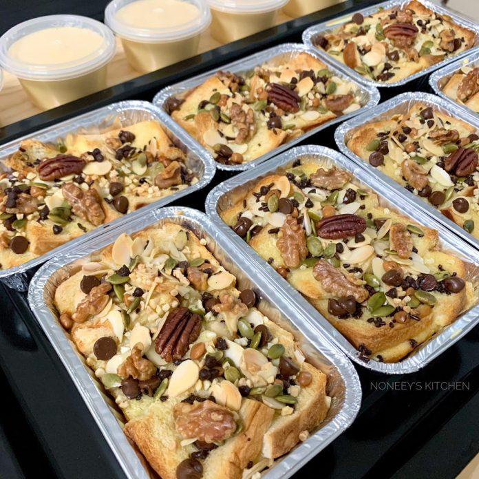 Puding Roti Versi Bakar Dibuat Jual Ni Resipinya Untuk Yang Ingin Buat Sendiri Keluarga