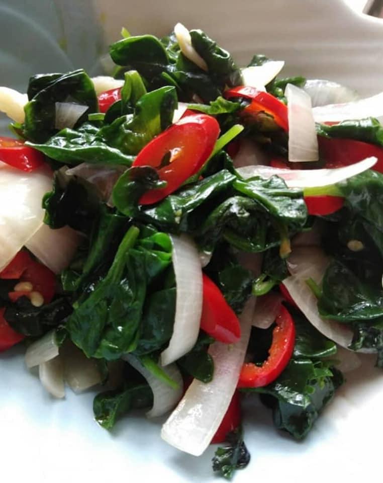 macam macam menu  masak  bayam brazil wanita ni kongsikannya keluarga Resepi Nasi Beriani Thai Enak dan Mudah