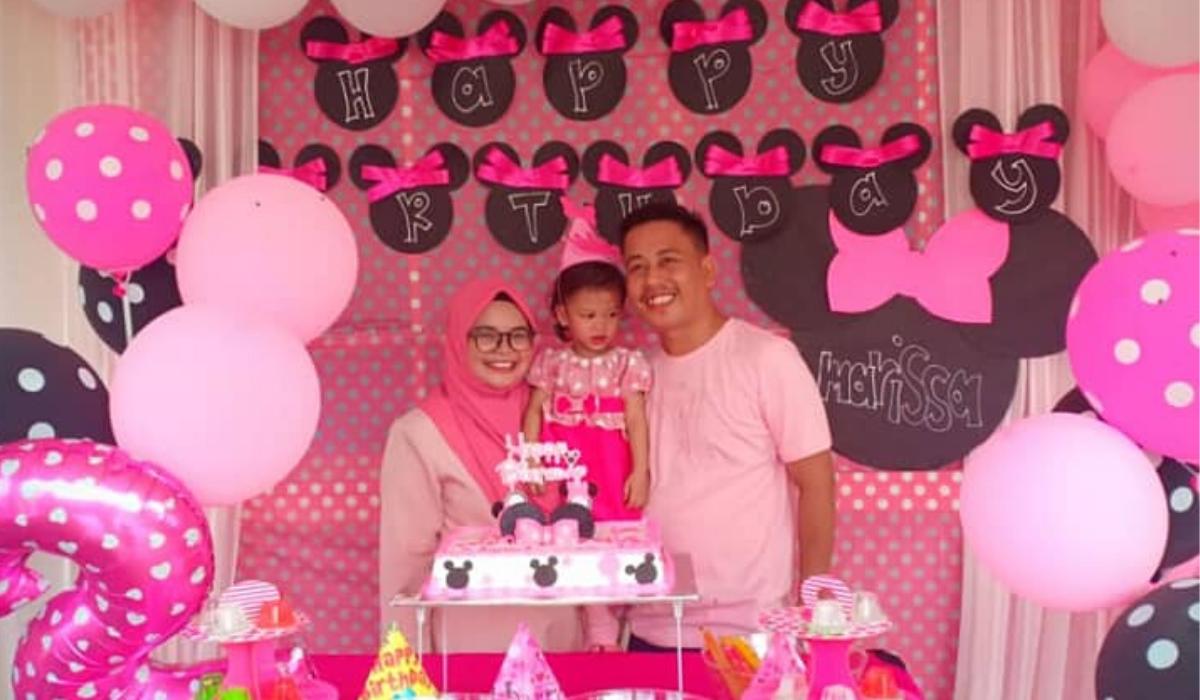 Backdrop Untuk Birthday Anak Ibu Ni Sempurnakan Dengan Belanja Rm60 Je Keluarga