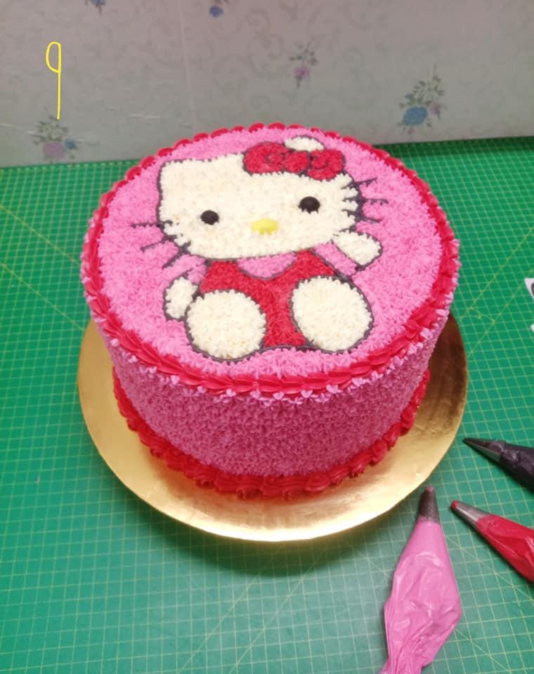 Kek Birthday Boleh Buat Sendiri Je Begini Step Nak Hias Untuk Beginner Keluarga