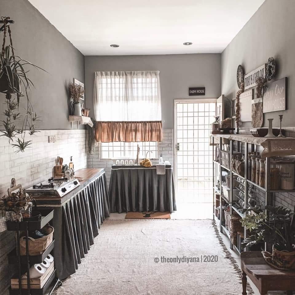 Tanpa Kitchen Cabinet Table Top Hebat Pun Dapur Tetap Cantik Sempurna Keluarga