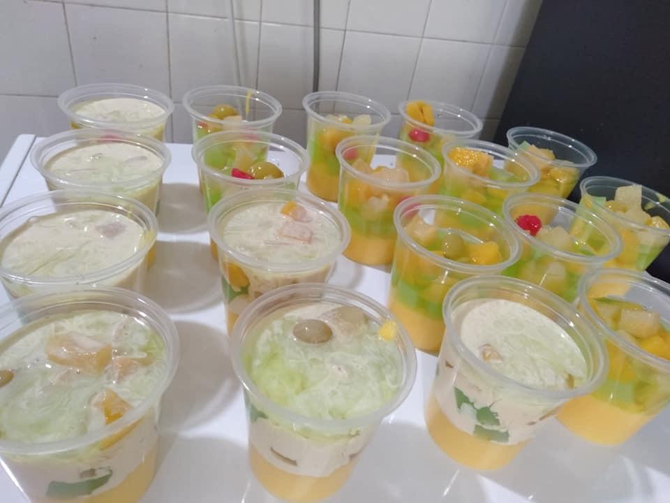 puding susu nata de coco guna sukatan cawan confirm jadi keluarga Resepi Biskut Guna Tepung Kastard Enak dan Mudah