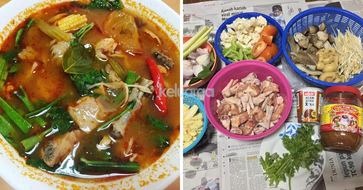 Ini Rahsia Tomyam Sedap Pekat Pedas Gerenti Terangkat Macam Dekat Restoran Thai Memang Umphh Keluarga