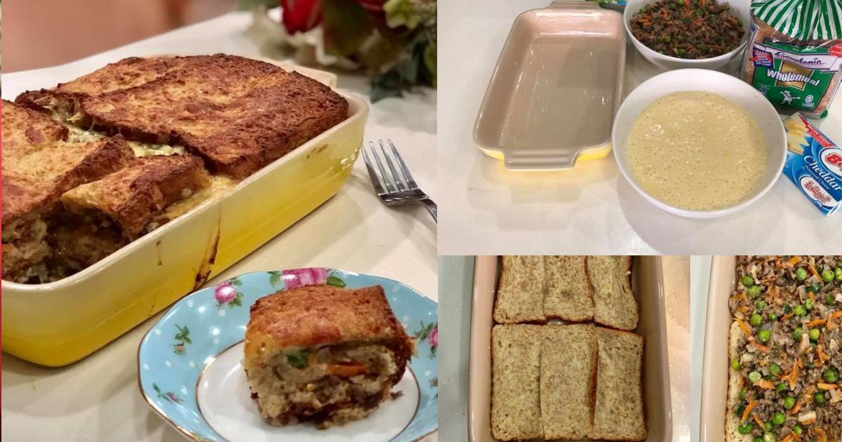 roti lapis daging berkeju  garenti sedap keluarga Resepi Roti Telur Susu Segar Enak dan Mudah