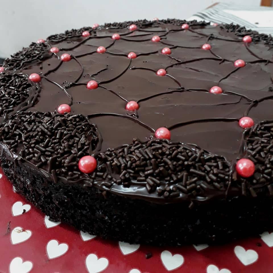 resipi kek coklat moist sedap gebu kurang manis mudah cepat guna sukatan cawan keluarga Resepi Kek Coklat Sukatan Cawan Enak dan Mudah