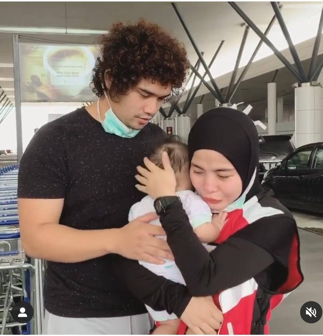 """Saya Sayang Awak. Abi Tahan Air Mata."""" Sertai Misi Bantuan Ke Sabah, Ardell Aryana Sebak Tinggalkan Suami & Anak! - KELUARGA"""